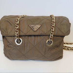 Authentic Prada Chain Quilted Bag